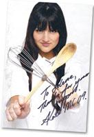Autographe Kate Masterchef Australia