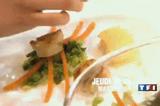 Mon plat de la mystery box St Jacques
