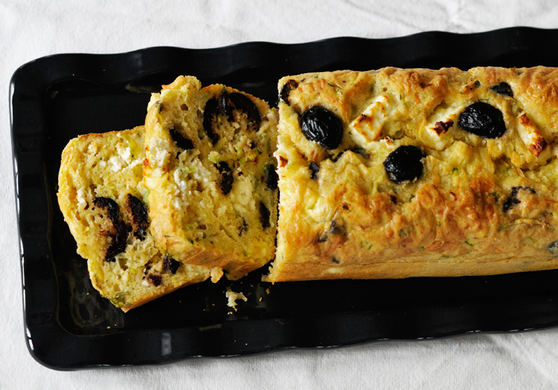 Cake Olives Et Feta Sans Lait