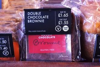 Brownies sans gluten café Nero