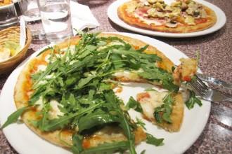 Pizzas sans gluten