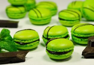 macarons-menthe-chocolat