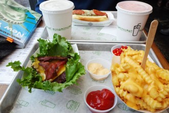 shake shak gluten free burger