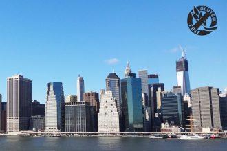 voyage new york sans gluten
