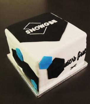 Gâteau logo d'entreprise