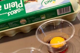 Les jaunes d'oeufs marinent dans la sauce soja (sauf le mien vu que y'a du gluten mais je referai cette étape avec du Tamari)