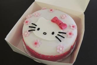 Gâteau dans sa boite