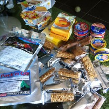 Snacks sans gluten et plats lyophilisés