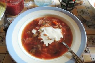 borsh soupe russe