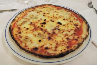 Pizza 4 fromages sans gluten
