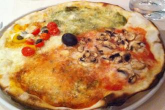Pizza 4 goûts sans gluten