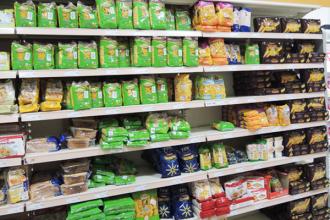Rayon des pâtes sans gluten en Italie
