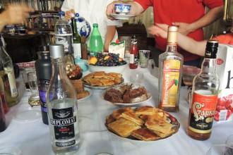 thé et gateaux russes