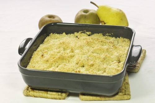 crumble pommes sans gluten