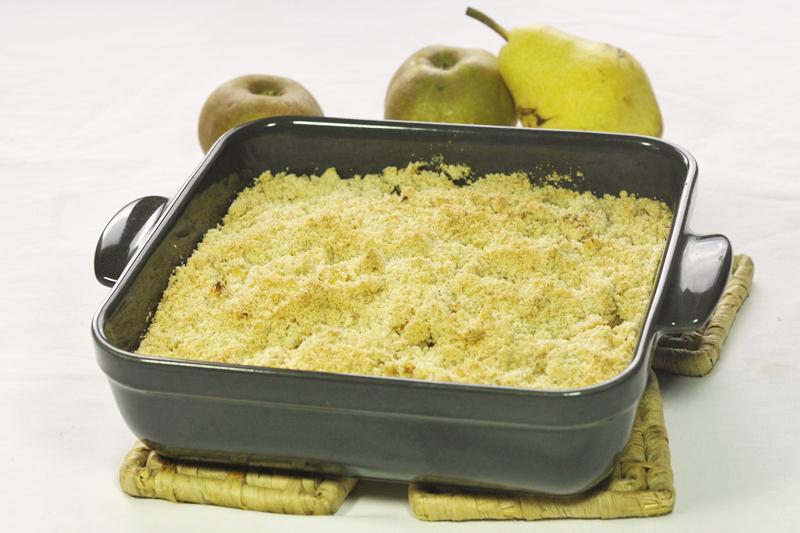 crumble pommes poires sans gluten sans lactose. Black Bedroom Furniture Sets. Home Design Ideas