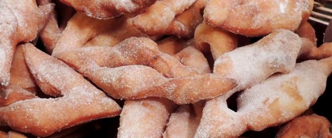 Bugnes lyonnaises sans gluten