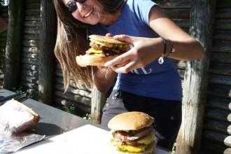 Bondi beach BBQ Burger !!