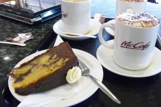 Jaffa cake sans gluten au Mc Café