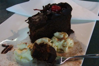Mud cake sans gluten - Busselton Jetty