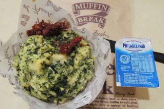Muffin sans gluten épinards / tomates sechées