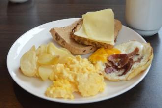 Petit déj sans gluten au First Hotel à Oslo