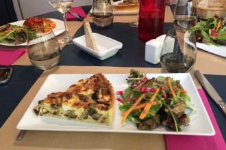 Tarte salé du jour (aubergines et féta)