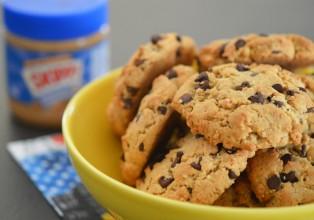 cookies cacahouète sans gluten