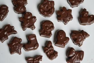 chocolats noel silikomart