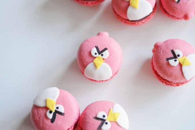 macaron angry birds