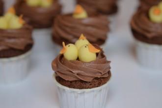 cupcakes nids de paques