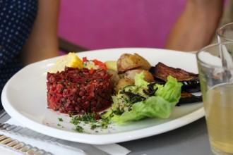 assiette vegan