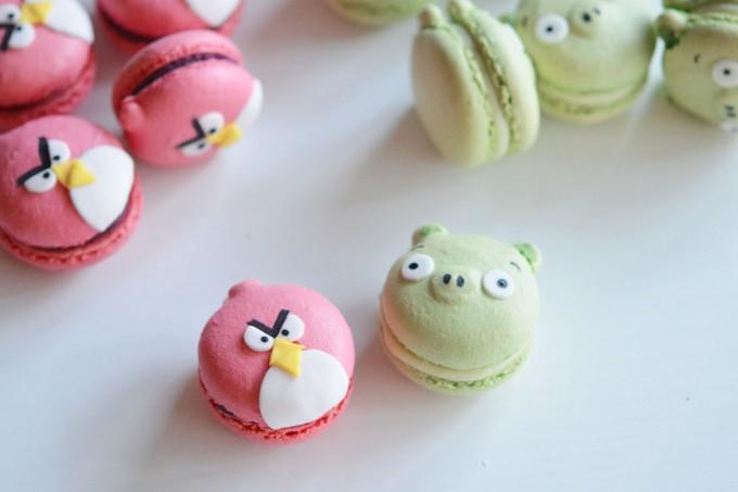 macarons angry birds