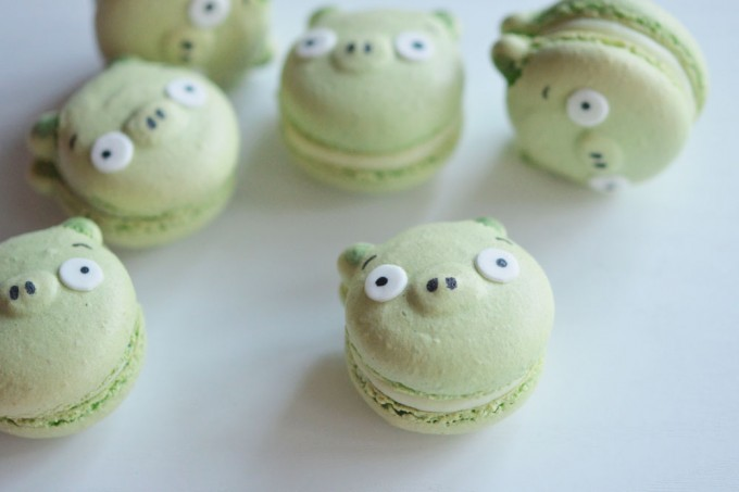 macarons cochons angry birds