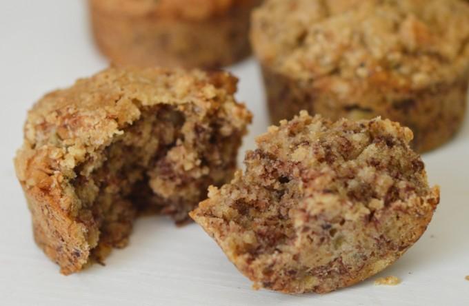 muffins banane sans gluten et vegan