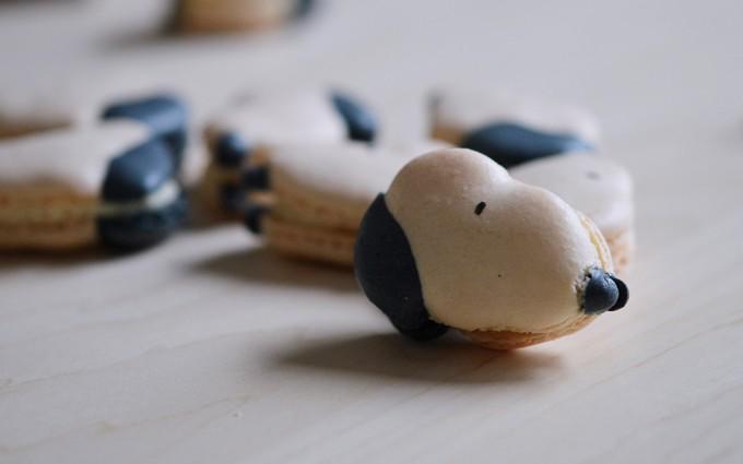 macaron snoopy peanuts