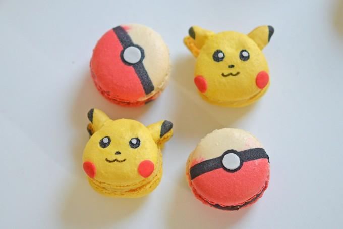 pokemons macarons