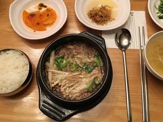 Bulgogi dans un restaurant à Séoul