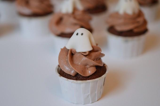 cupcake halloween fantome