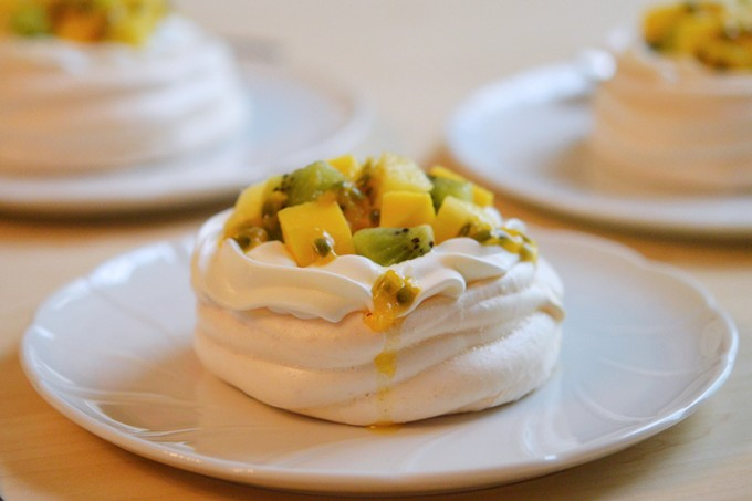 pavlova fruits exotique sans gluten