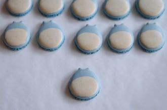 diy macarons totoro bleu