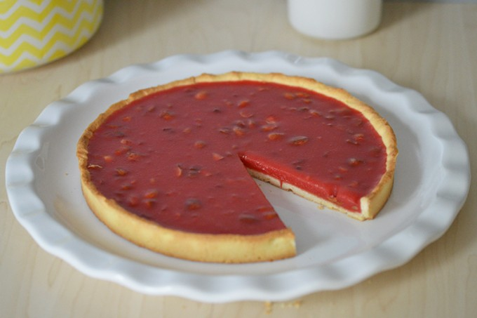 tarte pralines sans gluten