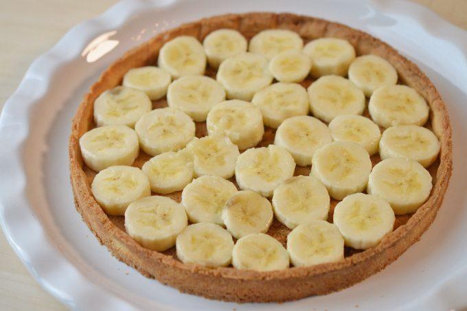 tarte  banane sans gluten