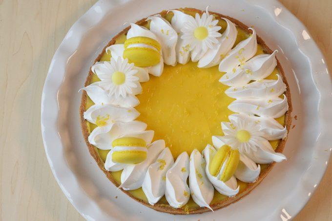Tarte au citron meringuée sans gluten