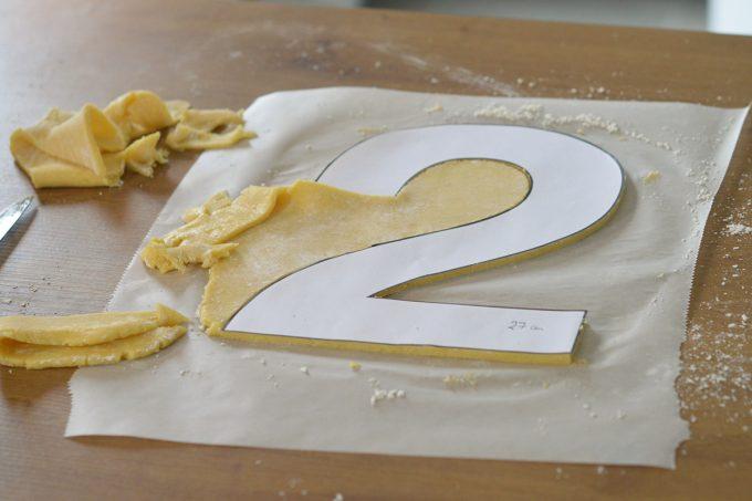 pate sablée number cake sans gluten