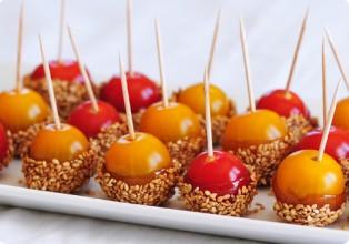 Pics tomates caramel sesame