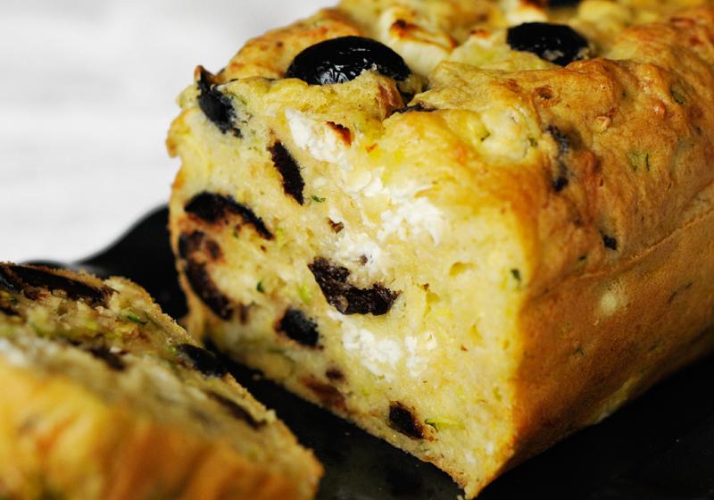 Cake Au Olive Noire