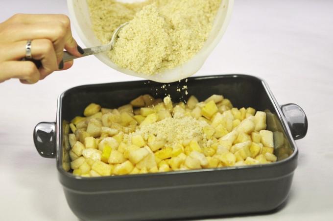 crumble sans gluten sans lactose