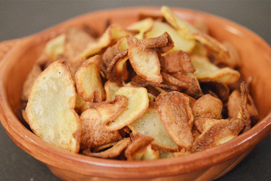 Chips Epicees Maison A L Actifry Sans Gluten Et Saines Sunny
