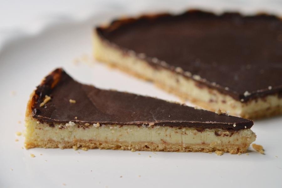 tarte coco chocolat sans gluten