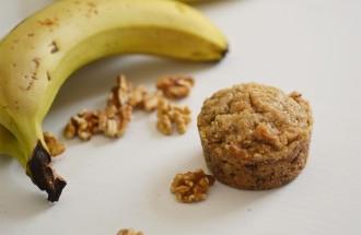 muffin banane sans gluten vegan
